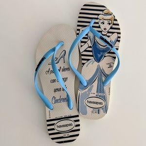 Havaianas Cinderella flip-flops, Size 10